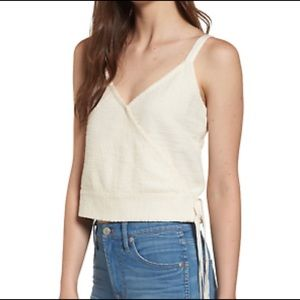 Madewell Finale Cotton Wrap Tank Top